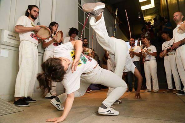 Alunos de Capoeira do Mestre Omri