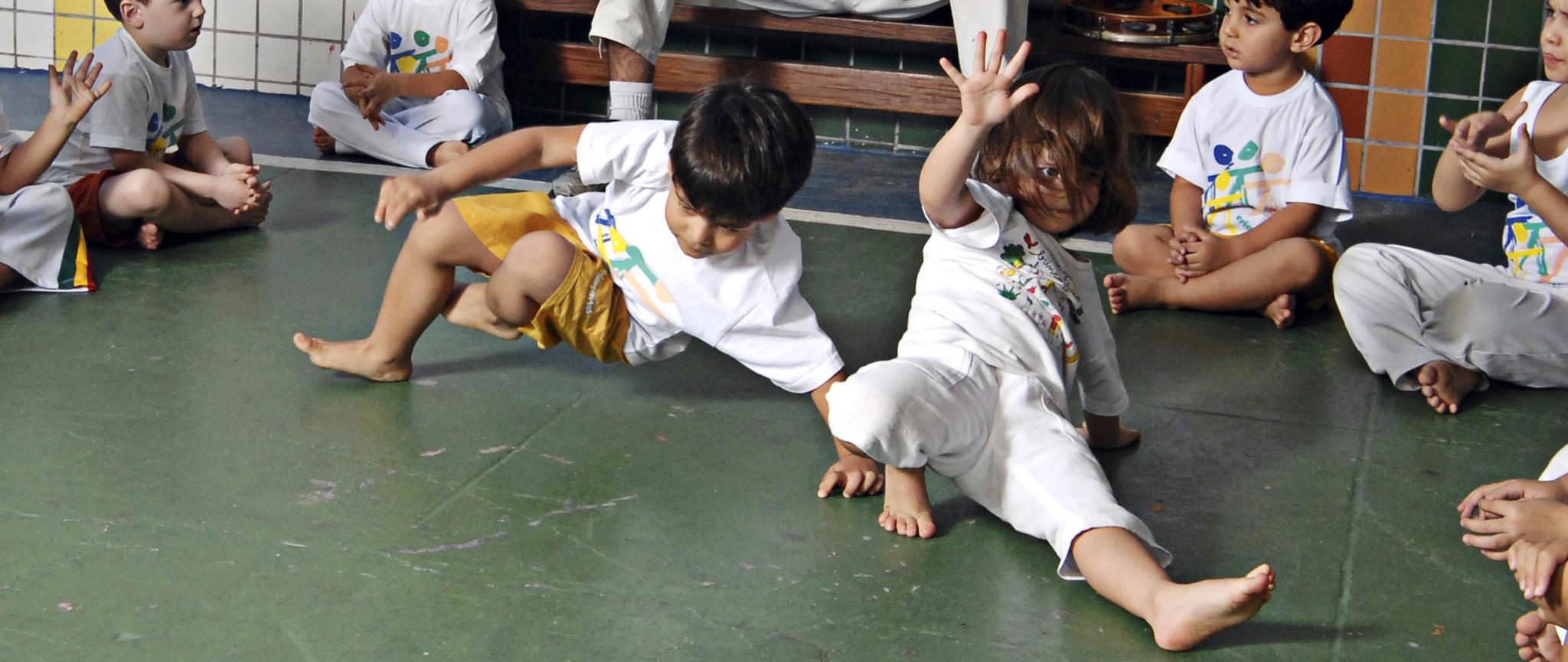 Aulas de Capoeira para criancas no Rio de Janeiro