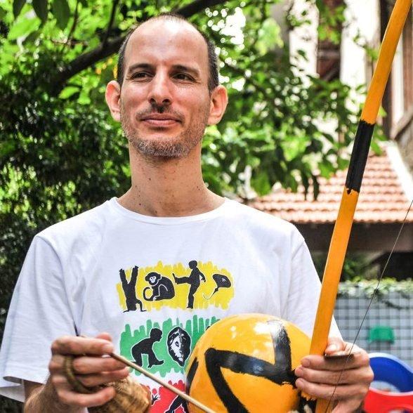 Mestre de Capoeira Omri Ferradura